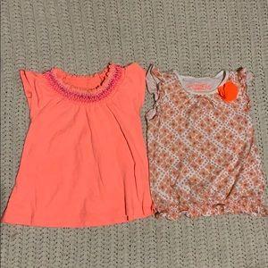 Oshkosh girls short sleeve tops size 3T